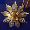 Order of the Lithuanian Grand Duke Gediminas grand cross star (Lithuania before 1940) - Tallinn Museum of Orders.jpg