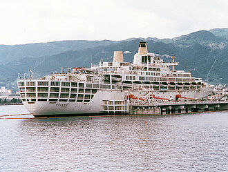 SS Oriana (1959) - SS Oriana as a floating museum in Beppu, Japan.