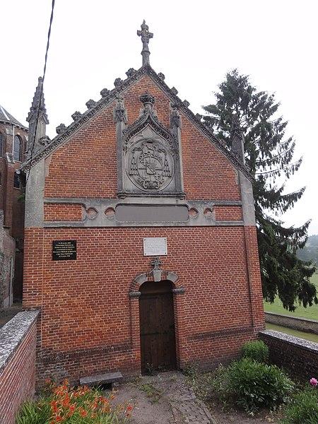 Origny-en-Thiérache (Aisne) maison natale de Mgr Behaine