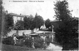 Ornacieux in 1909