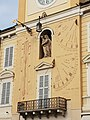 Orologio e Meridiane sul Palazzo del Governatore.jpg