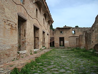 Ostia Antica - insulae of Ostia Antica.
