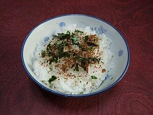 Furikake - Furikake sprinkled on rice