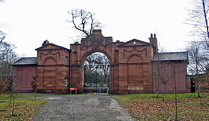 Joseph Turner (architect) - Image: Oulton Park Gates 3a