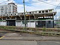 Outbound structure at Lechmere station, August 2018.JPG
