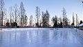 Outdoor ice rink in Itäkylä 20170306.jpg