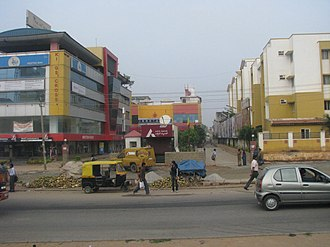 Outer Ring Road, Bangalore - Image: Outer Ring Road innnovative Multiplex