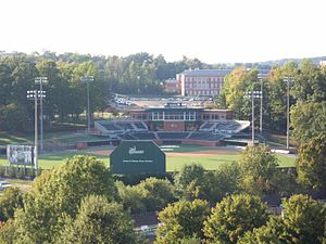 Charlotte 49ers - Hayes Stadium has been the home of the 49ers' baseball team since 1984. A major renovation finished in 2008.