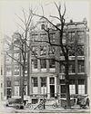 overzicht voorgevels drie grachtenhuizen - amsterdam - 20322260 - rce