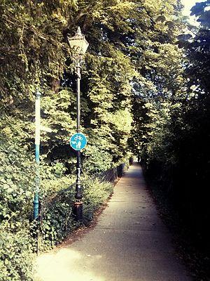 New Marston - Marston cycle path.