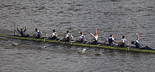 Oxford Men's VIII celebrating victory – Boat Race 2015.jpg