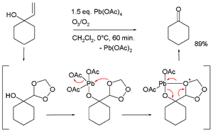 Lead(IV) acetate - oxidative cleavage of allyl alcohols