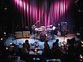 Oz Noy, Dave Weckl, James Genus - stage setup, Jazz Alley, 2011-02-01.jpg