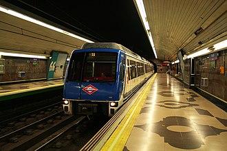 Pío XII (Madrid Metro) - Image: Pío XII (5610054940)