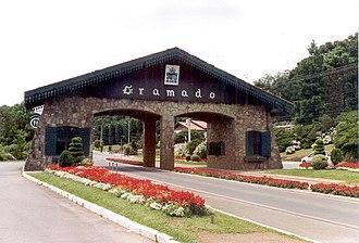 Gramado - Entrance of Gramado.