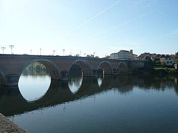 Français : Vieux pont de Bergerac