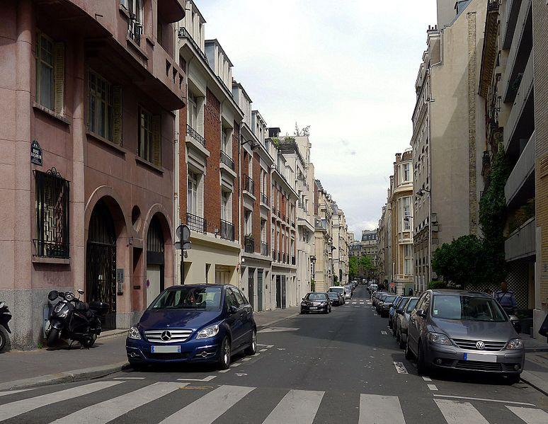 Fichier:P1090998 Paris XVI rue Jasmin rwk.JPG