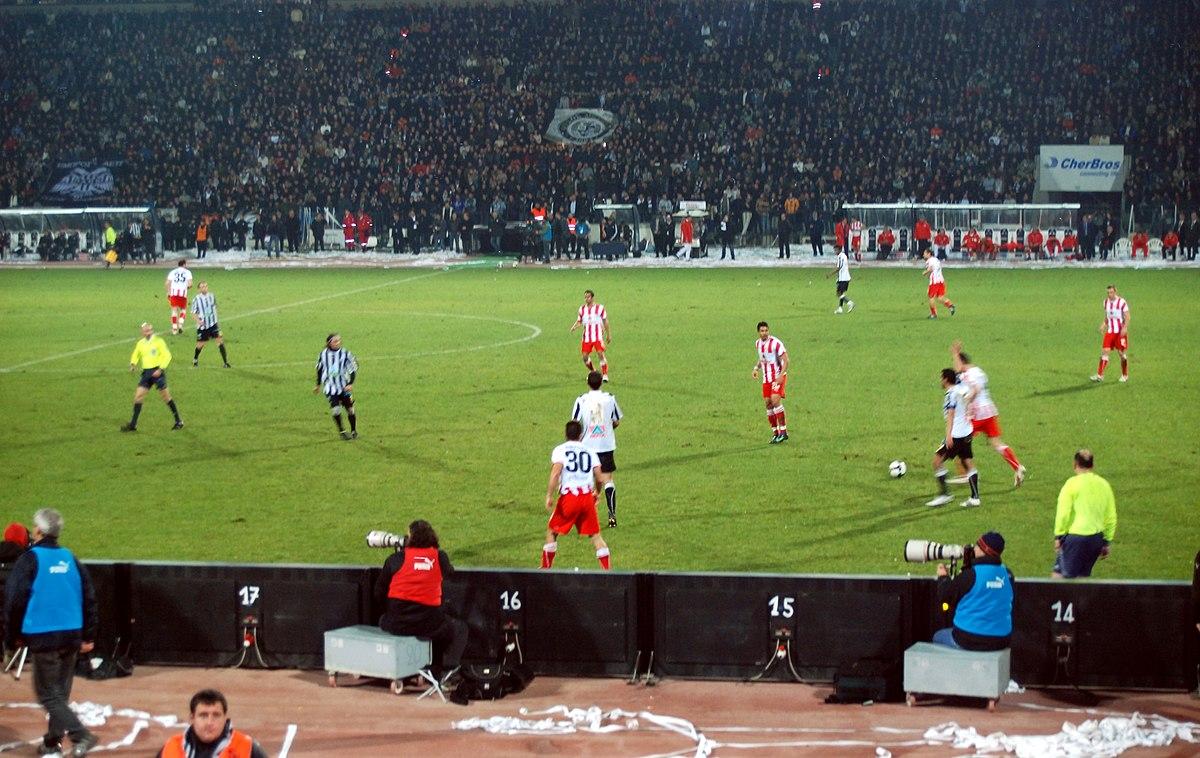 Paok Olympiakos: Olympiacos–PAOK Rivalry