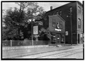 PERSPECTIVE VIEW OF SOUTH (FRONT) AND WEST SIDE - Rum Shop, Derby Street and Palfrey Court, Salem, Essex County, MA HABS MASS,5-SAL,52-2.tif