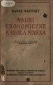 PL Kautsky - Nauki ekonomiczne Karola Marksa.pdf