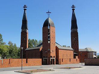 Czechowice-Dziedzice - Image: POL Czechowice Dziedzice Kościół Jezusa Chrystusa Odkupiciela 2