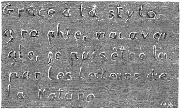 PSM V33 D661 Stylographic inscription by a blind writer late 19th century.jpg