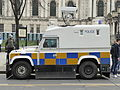 PSNI vehicle, Belfast, March 2015.JPG