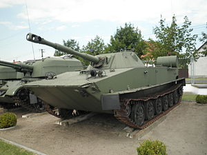 Siege of Bjelovar Barracks - Three PT-76 amphibious tanks were captured by the ZNG in Bjelovar.