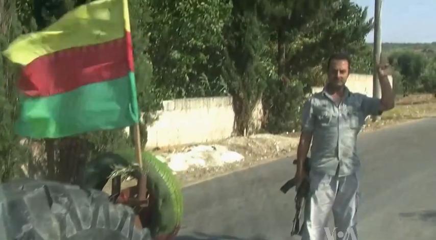 PYD checkpoint Afrin Syria