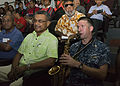 Pacific Fleet Band play for the public in Suva, Fiji, during Pacific Partnership 2015 150607-N-PZ713-168.jpg