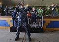 Pacific Fleet Band plays at Kokopo Secondary School during Pacific Partnership 2015 150701-N-PZ713-197.jpg