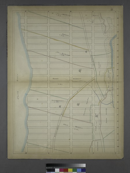File:Page 21- (Bounded by W. 156th Street, (Hamilton Heights) Ninth Avenue, W. 136th Street and North River.) NYPL1531825.tiff