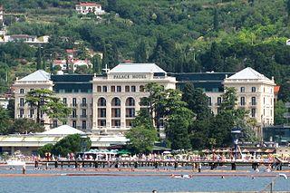Kempinski Palace Portorož Hotel in Portorož, Slovenia
