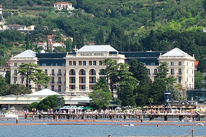How to get to Kempinski Palace Portoroz with public transit - About the place