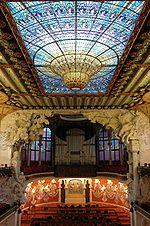 Palau de la Música - Interior general