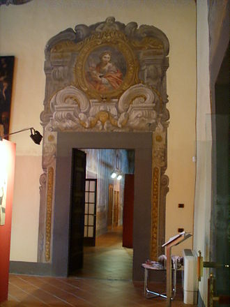 Monash University, Prato Centre - Interior of palazzo Vai