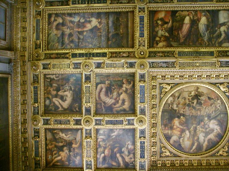 File:Palazzo vecchio, salone dei 500 soffitto 10.JPG - Wikimedia Commons