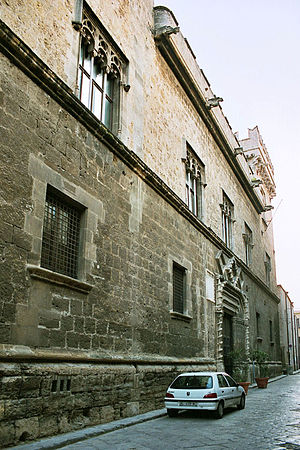 Palazzo Abatellis - The main façade of the palace