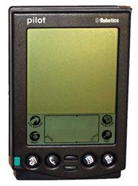 *PDA: Palm Pilot 5000 {{tr|Palm Pilot 5000 mod...