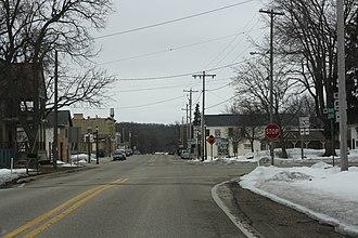 Palmyra, Wisconsin - Image: Palmyra Wisconsin Downtown Looking South WIS59