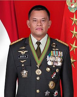 Gatot Nurmantyo Indonesian Army general (born 1960)