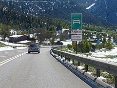 liste des semi autoroutes de suisse wikip dia. Black Bedroom Furniture Sets. Home Design Ideas