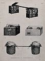 Panniers and trunks suitable for carrying on a carriage. Lit Wellcome V0041041.jpg