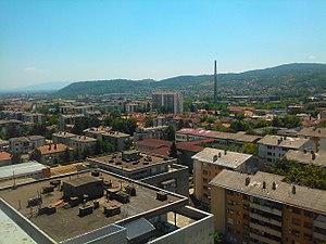 Trstenik, Serbia - Image: Panorama Trstenika 01