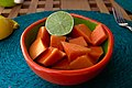 Papaya and Lime (3356386847).jpg