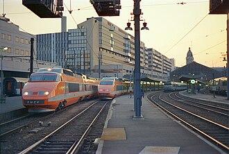 SNCF TGV Sud-Est - Image: Paris Lyon a