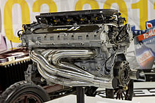 A 1990 Renault Rs2 V10 Engine