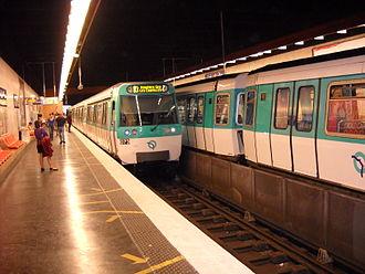 Malakoff – Plateau de Vanves (Paris Métro) - Image: Paris metro Malakoff Plateau de Vanves 3