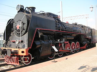 Russian locomotive class FD - Image: Parovoz FD21 3125