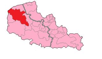 Pas-de-Calais's 6th constituency - Pas-de-Calais' 6th constituency shown within Nord-Pas-de-Calais